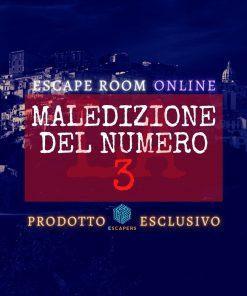 La Maledizione del Numero 3 - Escapers - Escape Room Virtuale Online