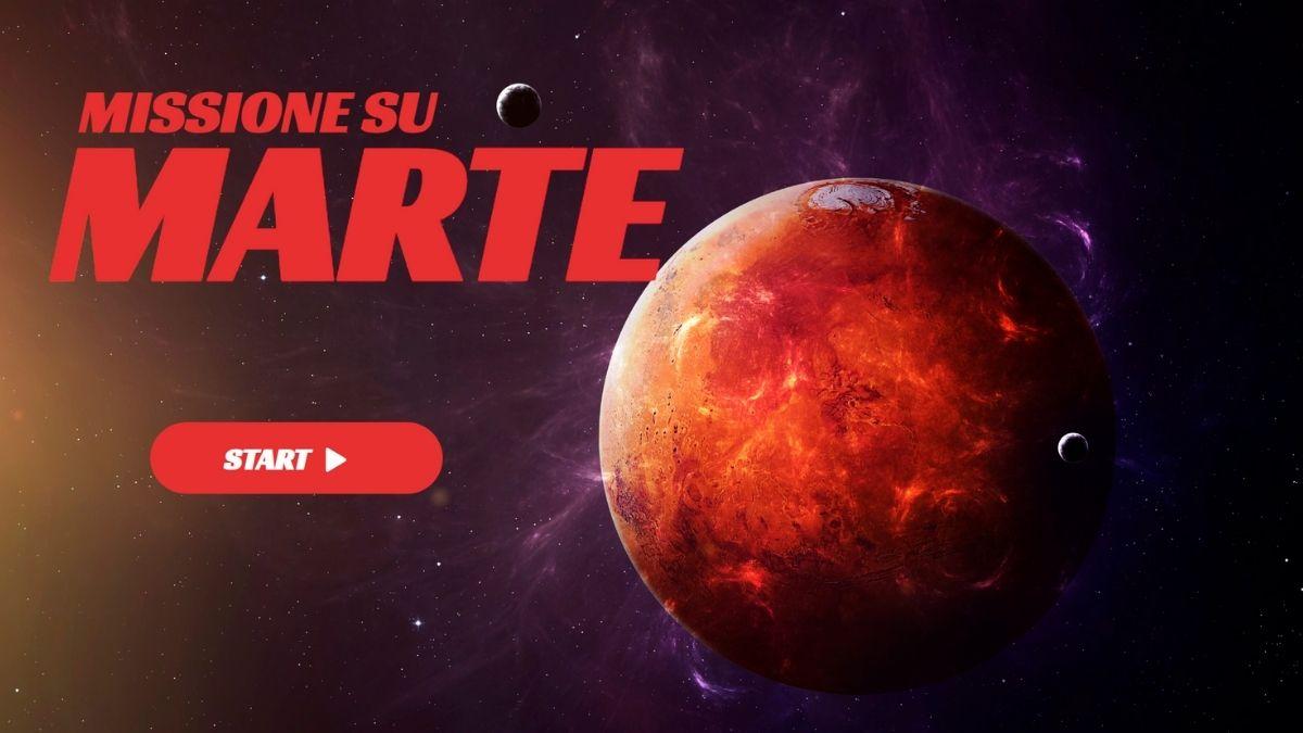 Missione su Marte - Escape Room Virtuale Online - Immagini di gioco - Start