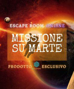 Missione su Marte - Escapers - Escape Room Virtuale Online